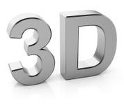 3D text Stock Image