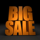 3d Text BIG SALE Stock Images