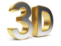3D text. Entertainment cinema. Isolated icon Stock Photos