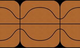 3D textuur van het Basketbal van de Kaart vector illustratie