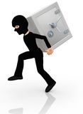 3D thief Stock Photos