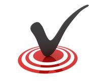 3d Tick vector illustration