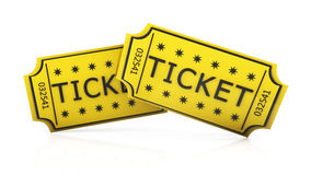 3d ticket Stock Photos