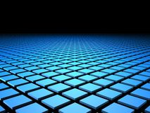 3D Tile Tiles Background. With copyspace Stock Image