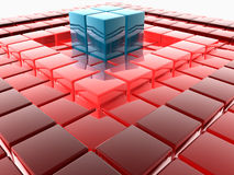 3D tiles Royalty Free Stock Photo