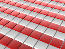 3D tiles. 3D shiny tiles illustration render vector illustration