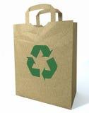 3d torba przetwarzający zakupy Obrazy Royalty Free