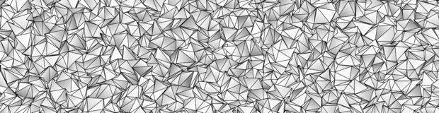 3d Triangles, abstract background. Design wallpaper stock illustration