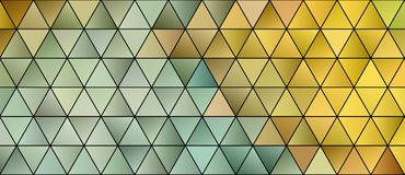 3d Triangles, abstract background. Design wallpaper royalty free illustration