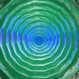 3D-turkoois ijsoppervlakte Stock Afbeeldingen