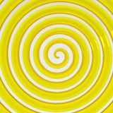 3D Twisting lines Abstract background. 3d rendered illustration of yellow abstract twisting lines Stock Photos