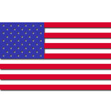 3D USA Flag Royalty Free Stock Photography
