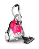 3d vacuum cleaner Royalty Free Stock Photo