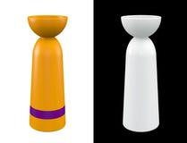 3D Vase modern Royalty Free Stock Image