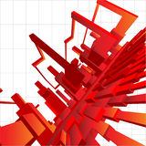 3D Vector Background Abstraction Royalty Free Stock Photos