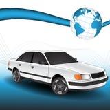 3D Vector Car Stock Photo