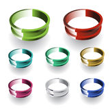 3d Vector Ring Royalty Free Stock Photo