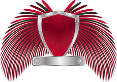 3d Vector shield Royalty Free Stock Image