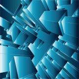 3D VectorSamenvatting Als achtergrond royalty-vrije illustratie