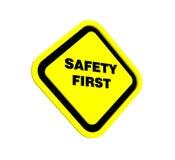 3d veiligheid eerst Stock Afbeeldingen