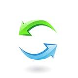 3d verfris pictogram Stock Fotografie