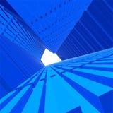 3D vetor City6 ilustração stock
