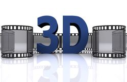 3d video Royalty Free Stock Photos