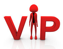 3d vip person Stock Photos