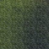 3d vloer van de mozaïekmuur in groene grungesteen Royalty-vrije Stock Foto