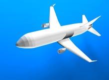 3d vlucht Royalty-vrije Stock Afbeelding