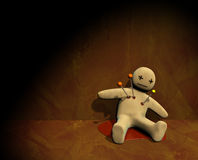 3d voodoo doll Royalty Free Stock Photo