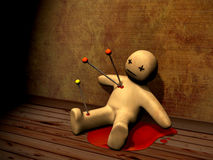 3d voodoo doll Stock Photos