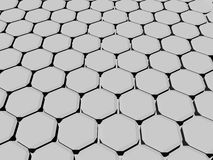 3d wall 32. 3d abstract wall in grey stock illustration