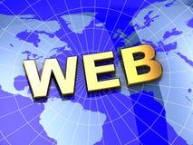 3d web Stock Photography