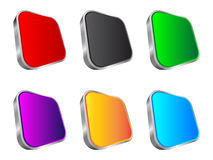 3d web buttons royalty free stock photography