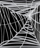 3d web isolated on black Stock Photo