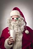 3D Weihnachtsmann stockbilder