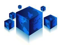 3d wereld Stock Foto