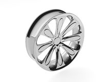 3D Wheel polished Stock Photography