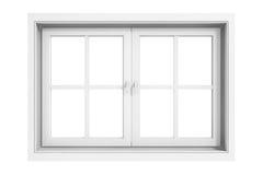 3d Window Frame Royalty Free Stock Photos