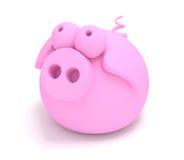 3d świnia Obrazy Royalty Free