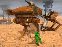 3D winnaar stock illustratie