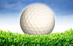 3d wit golf Royalty-vrije Stock Foto