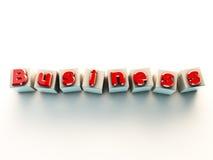 3d witte kubus Royalty-vrije Stock Foto's