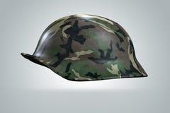3d wojska hełma żołnierz Obrazy Royalty Free
