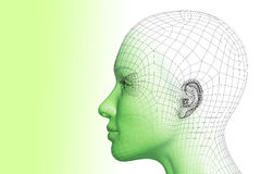 3D woman Stock Images