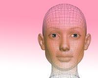 3D woman Royalty Free Stock Photos