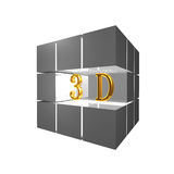 3d word Royalty Free Stock Images