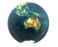 3D world Australia Stock Image