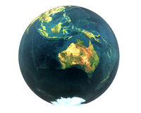 3D world Australia Stock Photos
